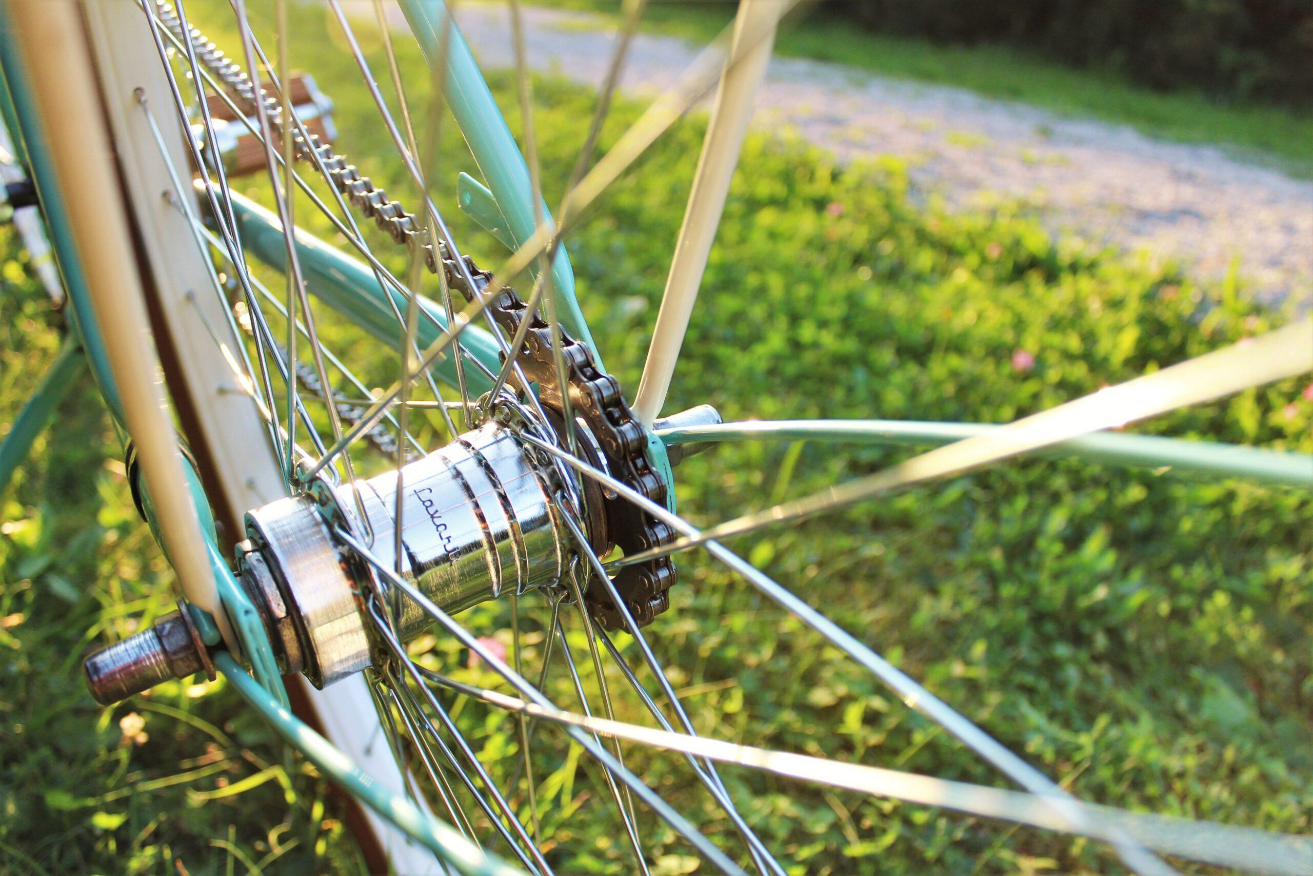 Met WD40 fietsketting smeren - kan dat?